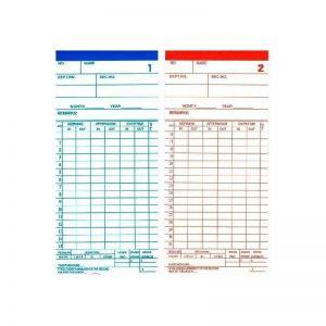 Punch Card w/ Curve (100's)