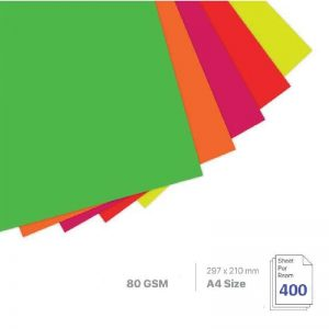 Cyber Colour Paper (100's)